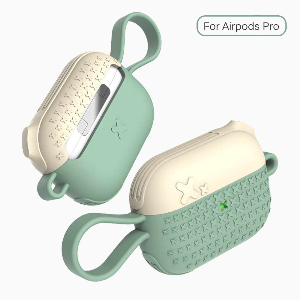 Latest light luxury <font><b>silicone</b></font> protective shell Wireless Headphone <font><b>Case</b></font> for <font><b>Apple</b></font> <font><b>AirPods</b></font> Pro <font><b>Airpods</b></font> 3 <font><b>case</b></font> with Ring Buckle image