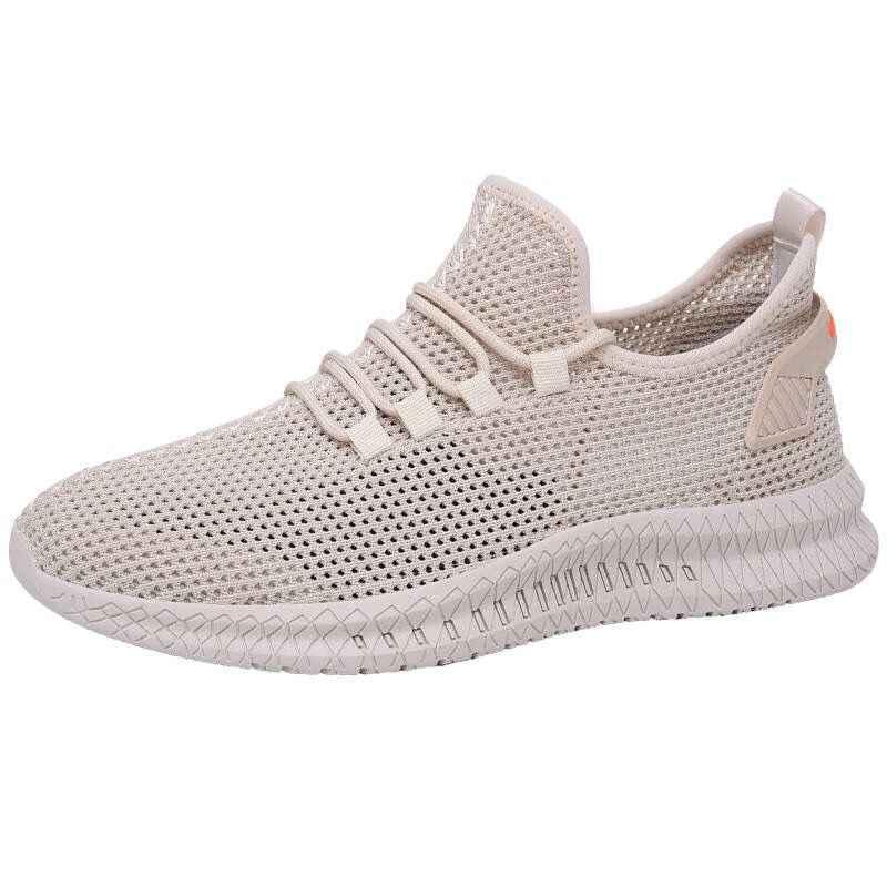 YIBING1517 zapatos de verano para hombre, zapatillas de deporte 2019 transpirables para hombre, zapatos casuales de malla de moda deportiva, zapatillas de deporte para hombre
