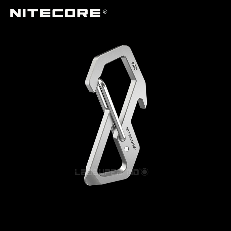 Nitecore NSH10 Multi-use Titanium Snap Hook