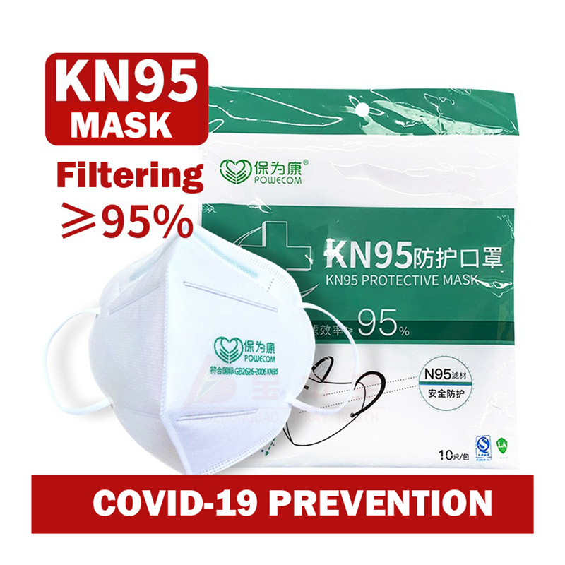 10Pcs N95 Mask Kf94 Ffp3Flu Anti Infection Face Mask KN95 Safety Protective Mask Adult KID Respirator Face Mouth Surgical Mask