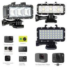 Diving LED Flash Light Underwater Video lamp For GoPro Hero 8 7 6 hero5 4 4S 3 for Xiaomi yi 4K SJCAM SJ4000 SJ6 Mijia EKEN H9 экшн камера sjcam sj6 legend розовый