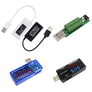 LCD Mini Phone USB Tester Voltage Current Meter Portable Doctor Mobile Power Charger Capacity Detector Monitor Voltmeter Ammeter