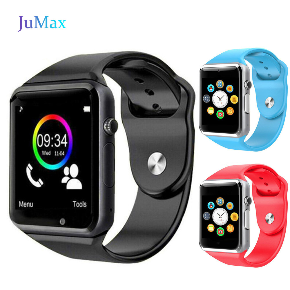 <font><b>Bluetooth</b></font> <font><b>A1</b></font> <font><b>Smart</b></font> <font><b>Watch</b></font> <font><b>Sport</b></font> Wristwatch Support 2G SIM TF Camera Smartwatch For Android Phone image