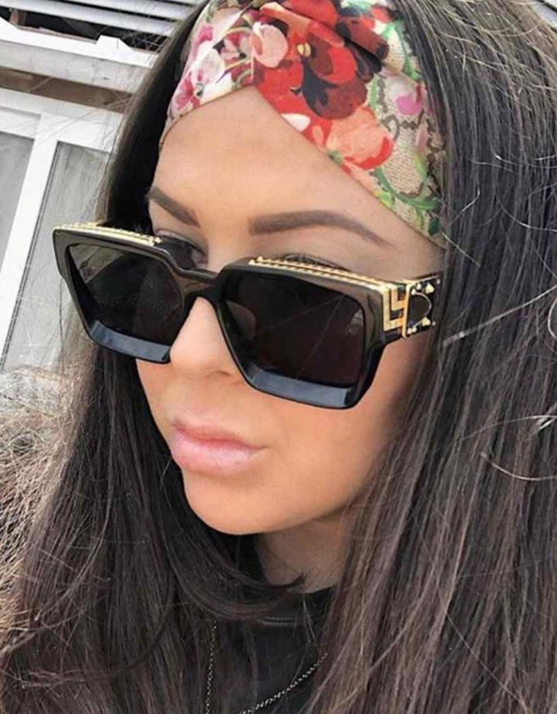 Pawes New Summer Style Gold Plated Top Eyewear Retro Men Sunglasses Women UV400 Sun Glasses