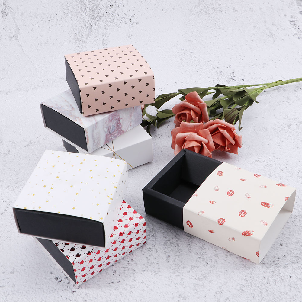 1 Pc Handmade Soap Boxes Party Present Gift Packaging Box Sweet Birthday Wedding Favor Boxes For Candy Cake 6 Style Fashion