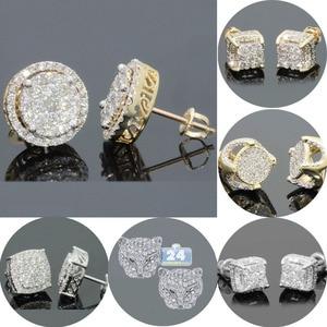 Luxury Rhinestone Crystal Stud
