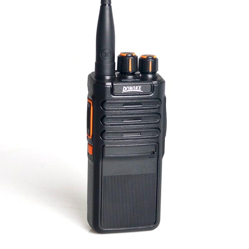 DK-777 12 Вт мощная рация UHF 400-470 МГц 10 Вт 5-10 км дальность Двусторонняя рация для охоты на открытом воздухе PMR446 рация s