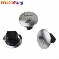 1pc carro keyless ir start stop botão interruptor de ignição do motor chave 2215450714 para mercedes benz w164 w205 auto acessórios