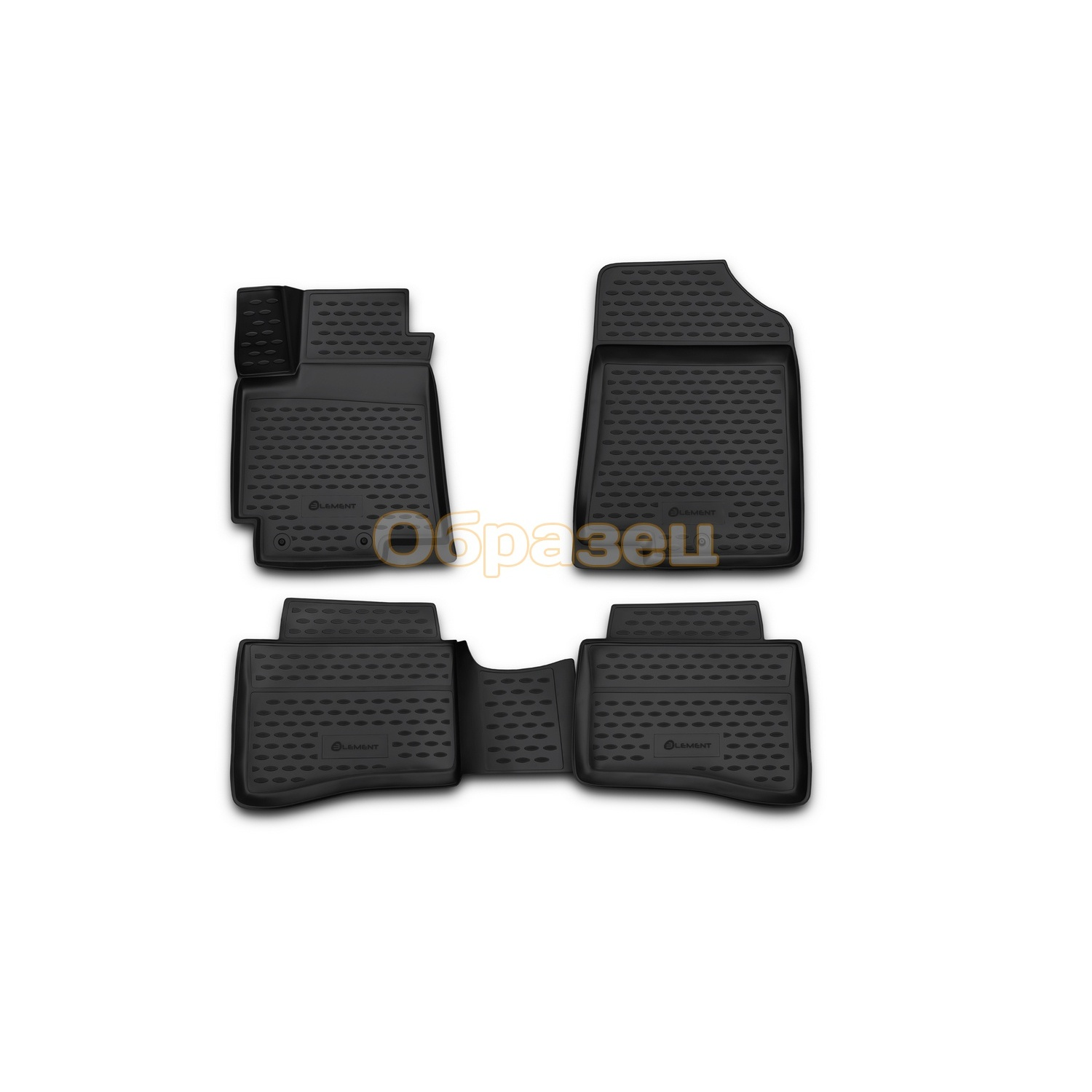 3D mats in the interior fit for Toyota Ractis 2010 2016. Hatch back  Floor Mats     - title=