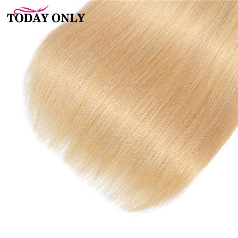 TODAY ONLY 1/3/4 Bundles Blonde Straight Hair Bundles Ombre Human Hair Bundles 1b 27 Brazilian Hair Weave Bundles Remy 8-26 Inch