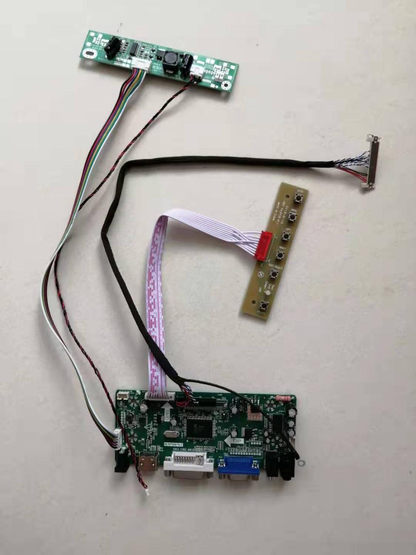 Latumab New LCD LED Controller Board Driver kit for V236BJ1-LE2 HDMI + DVI + VGA  Free shipping