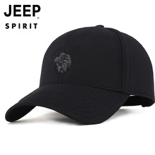 Jeep Mens Baseball Cap Fashion Popular Duck Tongue Outdoor Sunscreen Sunshade Dad Leisure Sports Adjustable