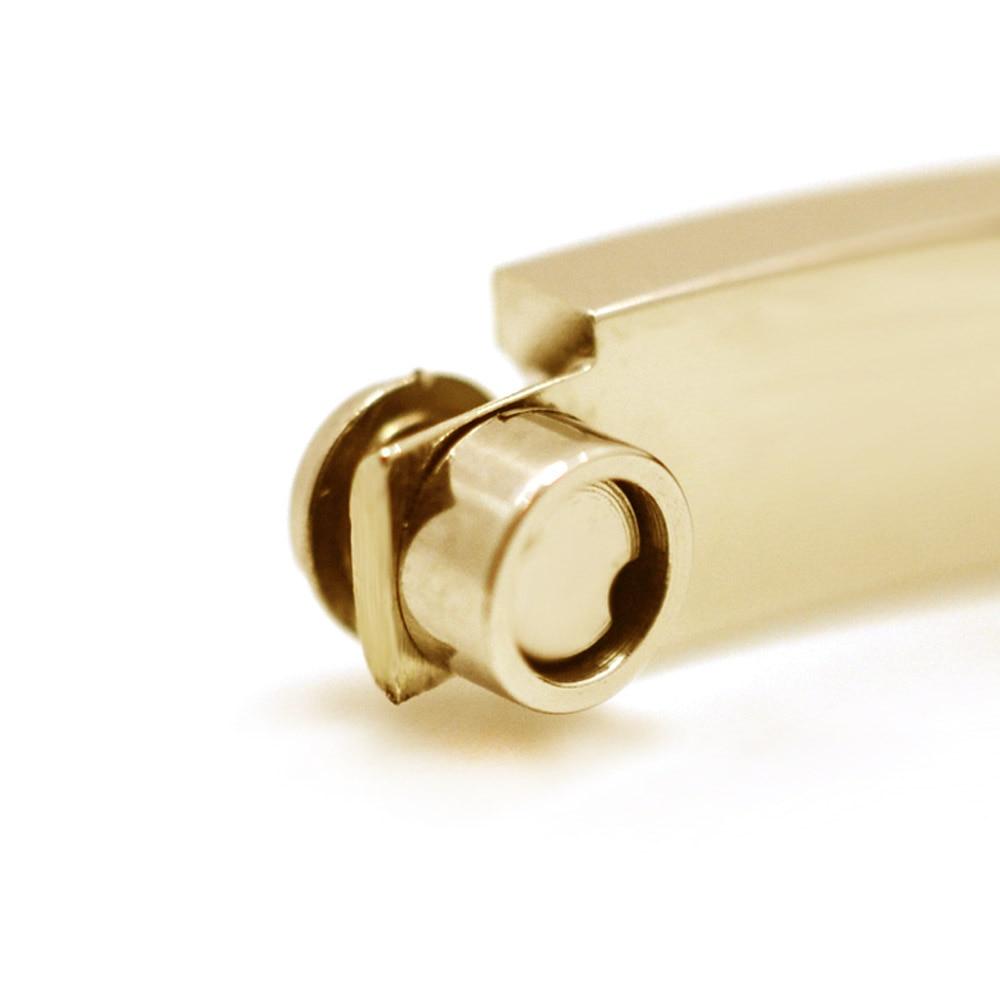 16cm 21cm Titanium Steel Oval Jewelry Cuff Screw Bracelets
