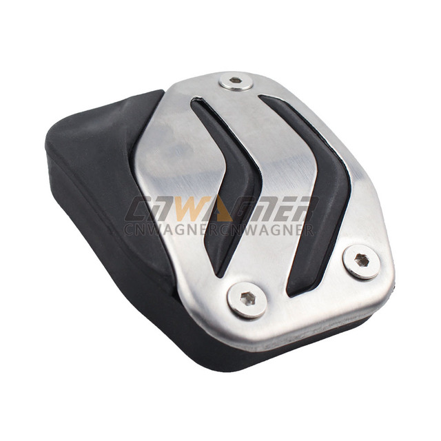 Car MT AT Foot Rest Pedal Pads Cover For BMW X1 X3 X4 X5 X6 1/2/3/5/6/7 Series E87 F20 E90 E92 E93 F30 F35 F34 F31 3GT 5GT