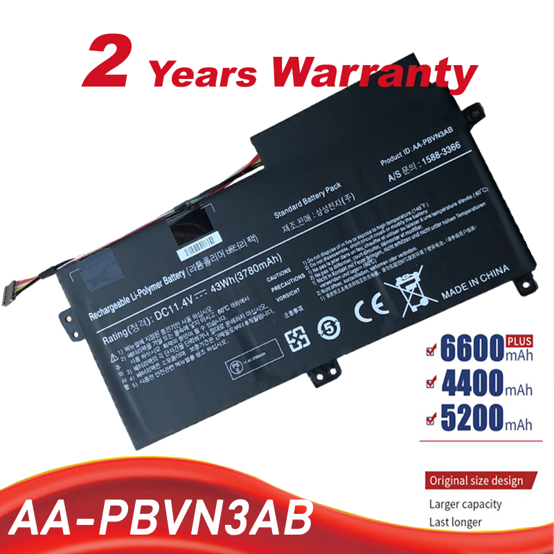 New AA-PBVN3AB <font><b>Laptop</b></font> Battery For <font><b>SAMSUNG</b></font> NP370R4E NP370R5E NP370R5V NP450R4E NP450R5E NP450R4V NP450R5V <font><b>NP470R5E</b></font> free shipping image