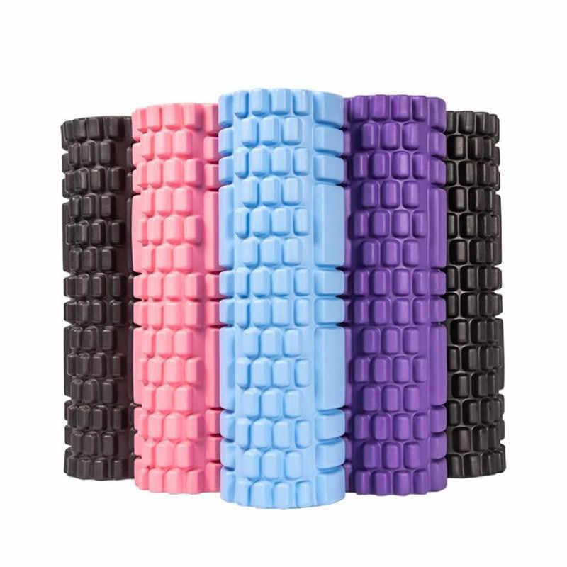 Sütun Yoga bloğu Fitness ekipmanları Pilates Eva köpük rulo spor salonu egzersizleri kas masajı rulo Yoga tuğla spor aracı