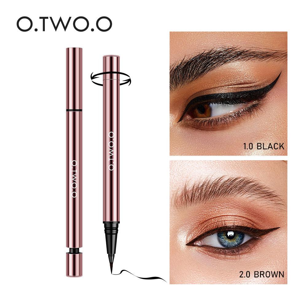 O.TWO.O Liquid Eyeliner Super Waterproof Makeup For Woman Eyeliner Feutre Black Brown Long Lasting Eye Liner Pencil Cosmetics