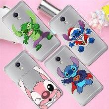 Stitch christmas For Meizu M3S M5 M5S M5C M6 M3 Note U10 U20 phone Case Cover Coque Etui capa Funda shell capinha cartoon