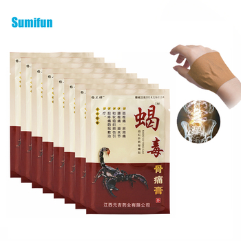 8Pcs Sumifun Arthritis Joint Pain Relief Patch Chinese Herbal Medical Plaster Body Back Knee Neck Muscle Health Care Plaster 10 20 30ml chinese herbal patches rheumatism joint oil neck back body relaxation pain killer body massage plaster tiger balm