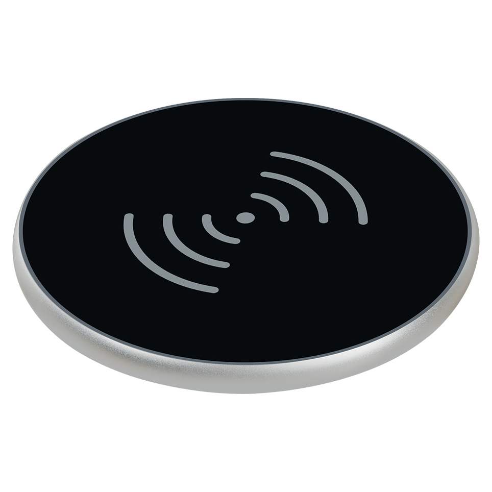 QI desktop mobile phone wireless charger wireless transmitter 10W fast charge K1 FOR: iphone Samsung Huawei xiaomi OPPO VIVO|Wireless Chargers|Cellphones & Telecommunications - title=