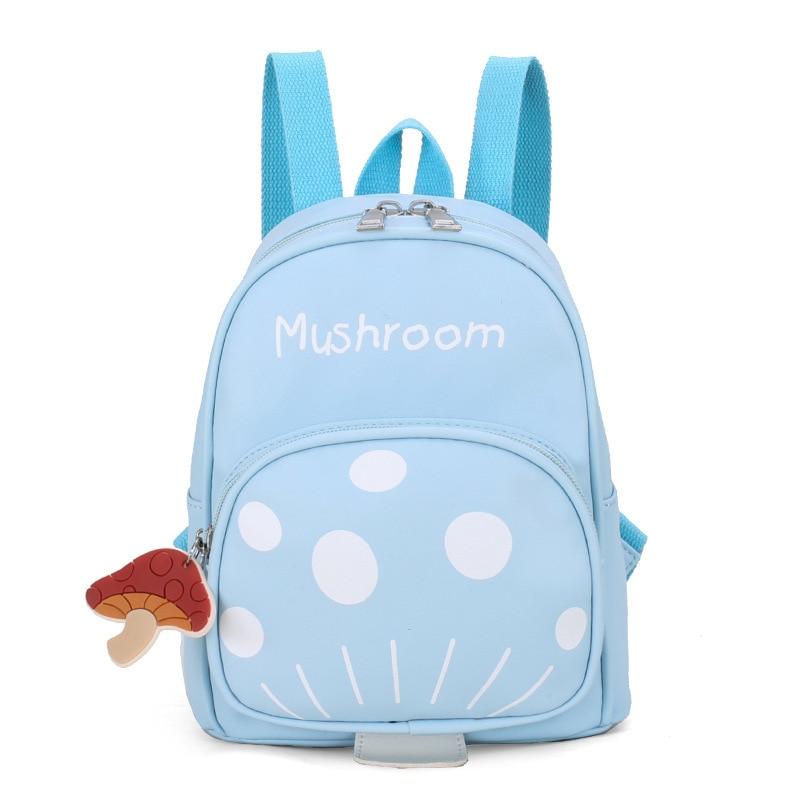 Korean-style Men And Women Children Nursing Cartoon Backpack Cute Mickey Mouse Mushroom Rabbit Kindergarten Backpack School Bag