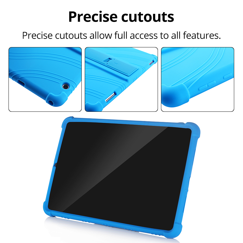Case for Huawei MediaPad T5 10 T3 9.6 M6 10.8 M5 Lite 10.1 M5 8.0 MatePad T8 Pro 10.4 Kids Case Soft Silicone Shockproof Cover