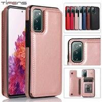 Custodia in pelle A52 A72 per Samsung Galaxy S21 S20 FE S10 S9 S8 Ultra Plus A12 A32 A42 A51 A71 A21S A50 A30 A40 A20 A10 Flip Cover