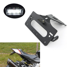 For Aprilia RSV4 2009- Tuono RS4 125 RS4 50 2011- Number License Plate Holder Rear Tail Tidy Fender Eliminator kit