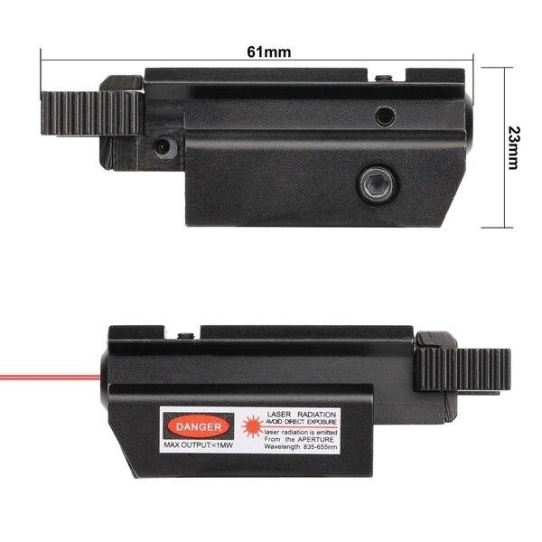 Red/Green Laser Sight and Glock Flashlight Combo Tactical Rifle Lights Pistol Guns Glock 17,19, 22 Series Hunting Laser Sight-5