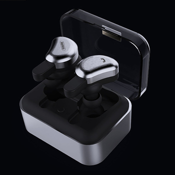 Remax Tws-1 Wireless Bluetooth Sports Headphones Hifi Stereo Bass Noise Reduction Gaming Headset Fingerprint Press Headphones fo