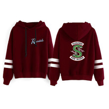 Riverdale Hoodie Sweatshirts South Side Serpents Ho