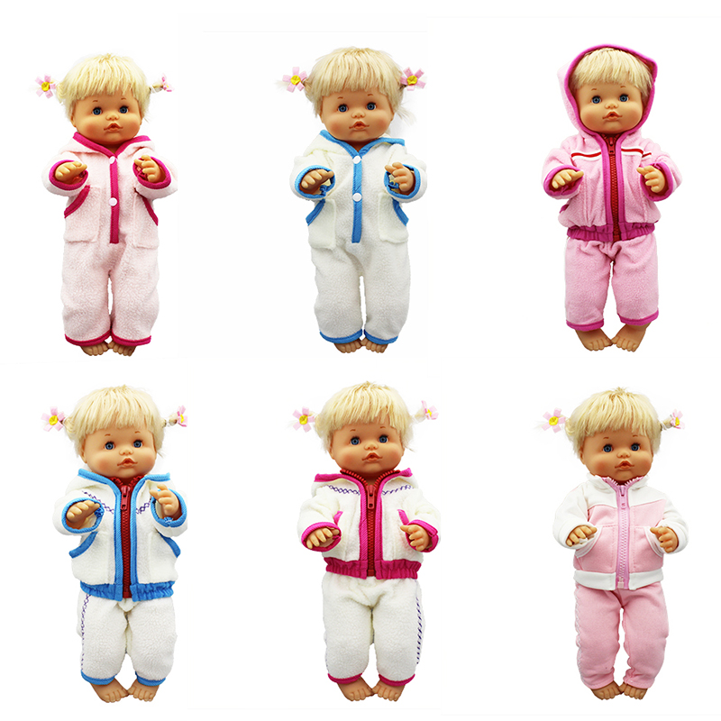 Warm Suit Doll Clothes Fit 42cm Nenuco Doll Nenuco Su Hermanita Doll Accessories