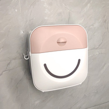 toilet paper Household toilet tissue box toilet drawer bathroom storage box large transparent paper drawer contact paper holder