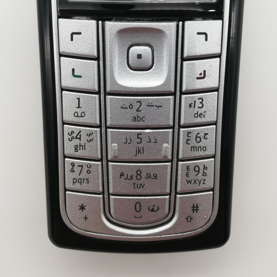 Housing Main Keyboards English/Russian/Arabic/Hebrew Keypads Cover <font><b>Case</b></font> Buttons For <font><b>Nokia</b></font> <font><b>6230</b></font> image