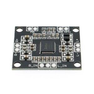 Image 2 - 50pcs PAM8610 2x15W amplifier board digital two channel stereo power amplifier board miniatu
