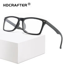 HDCRAFTER Classic Men and Women Unisex Wooden Sunglasses Vintage square Optical Spectacle Eyeglasses Glasses Frame Eyewear
