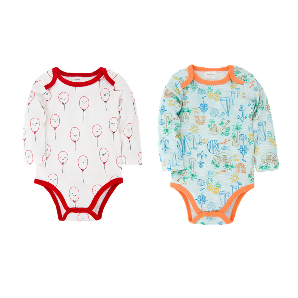 Kavkas Baby Girl Clothes 0-12M 2020 Baby Boys Clothing Set Newborn Overall Boy Sayings Bodysuit Infantil Body Suits