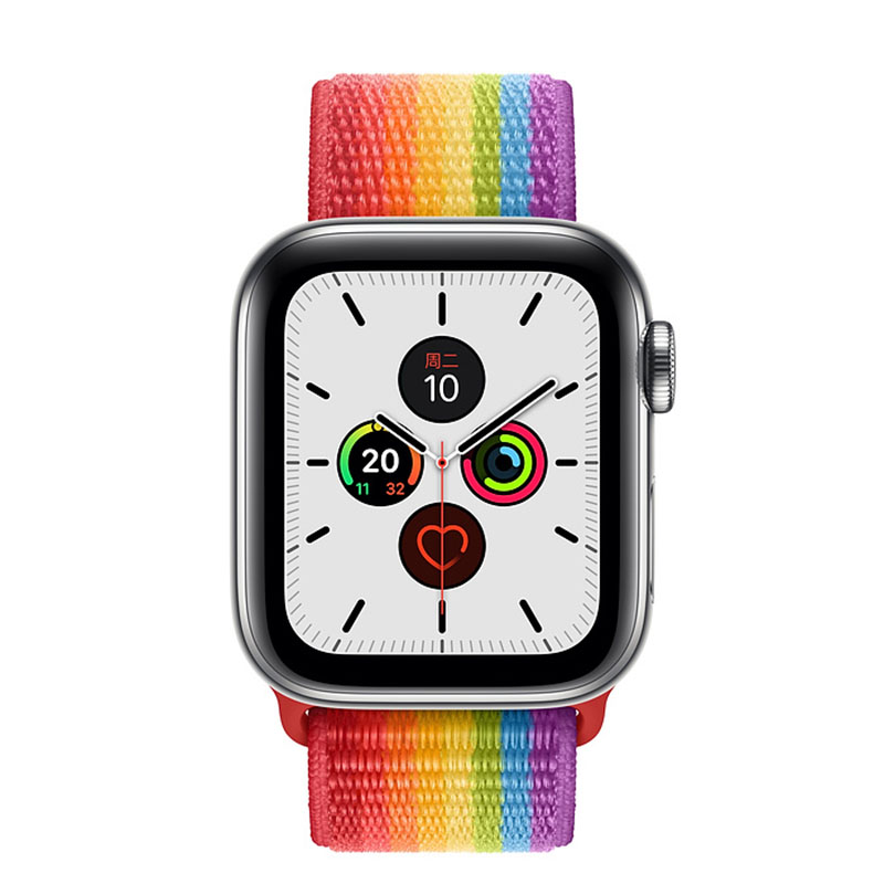 <font><b>IWO</b></font> 12 Smart Watch Series 5 44mm 40mm Case <font><b>1</b></font>:<font><b>1</b></font> Men watch Heart Rate Monitor for iPhone Android Smartwatch with sport loop image