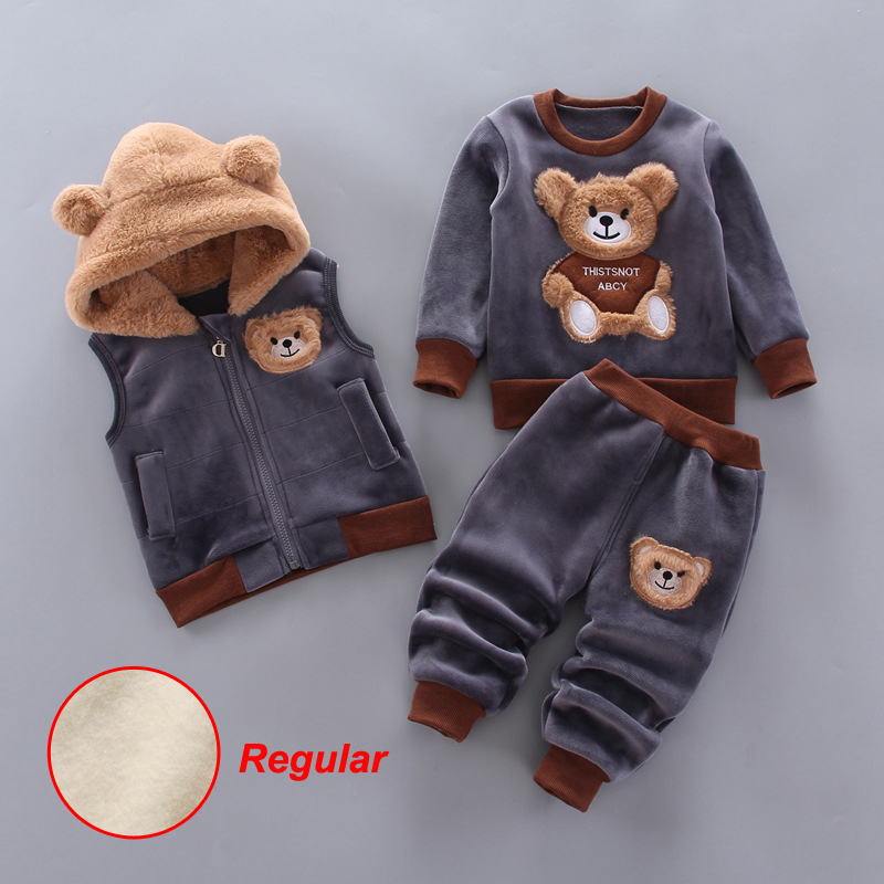 LZH Children Clothing 2020 Autumn Winter Toddler Boys Clothes Christmas Costume Outfit Kids Clothes Suit For Girls Clothing Set