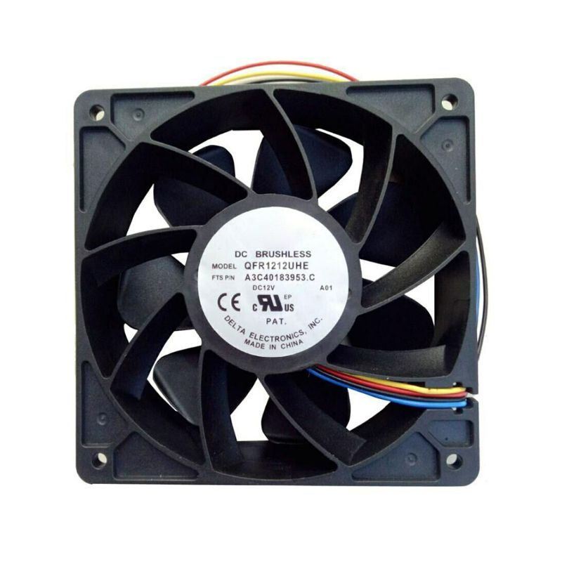 Universal 7500RPM Cooling Fan Cooler Replacement 4-Pin Connector for <font><b>Antminer</b></font> <font><b>Bitmain</b></font> <font><b>S7</b></font> S9 image