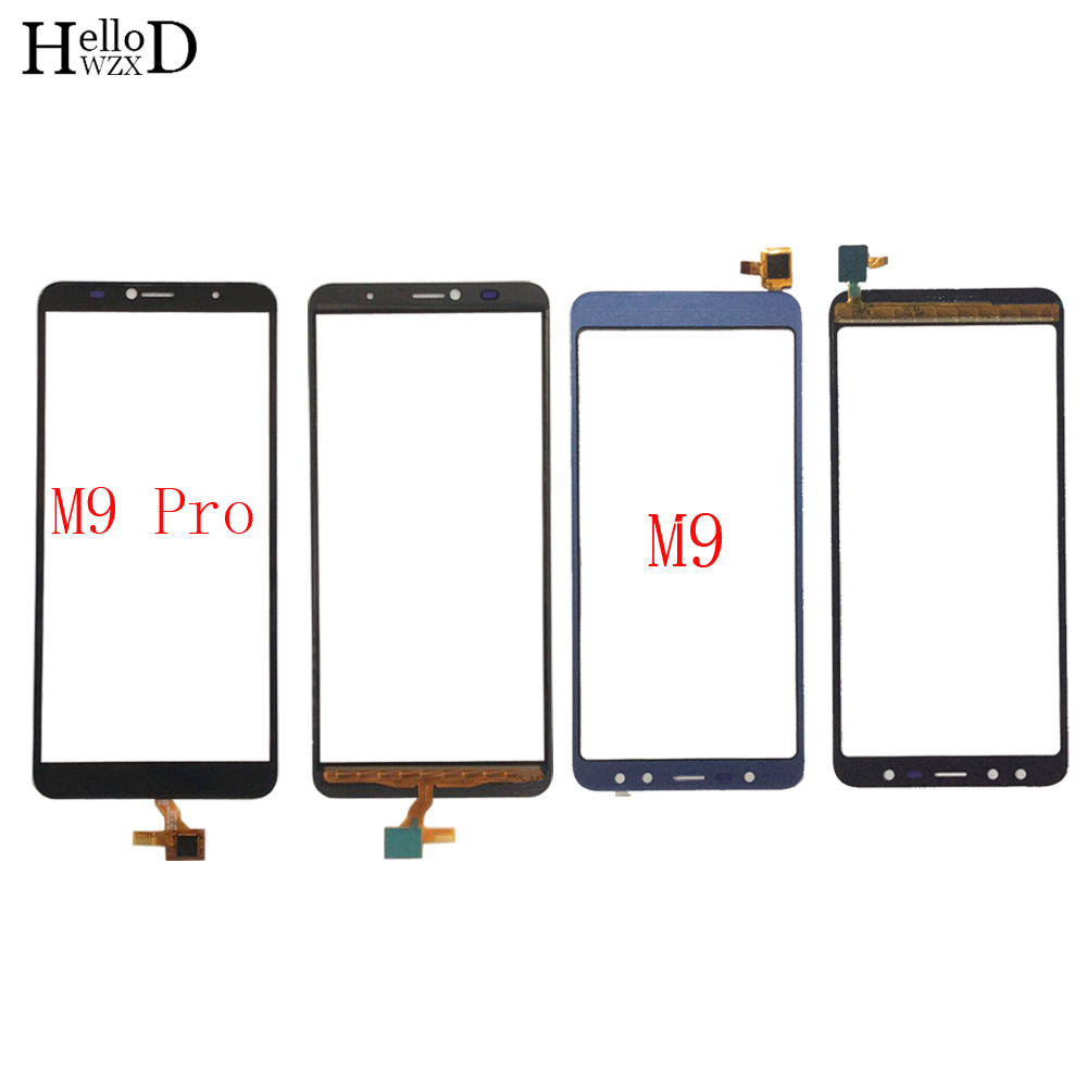 Touch Scren Digitizer Panel For Leagoo M9 M9 Pro Touch Screen Front Glass Lens Sensor 3M Glue Wipes