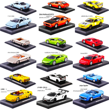 1:43 Scale Metal Alloy Classic Racing Rally Car Model Diecast Vehicles Toys For Collection Display not for kids play 1 10 scale alloy diecast racing bike w basket