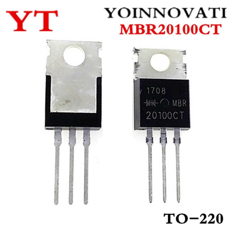 10 шт./лот MBR20100CT MBR20100 TO 220 IC лучшее качество.|Интегральные схемы|   | АлиЭкспресс