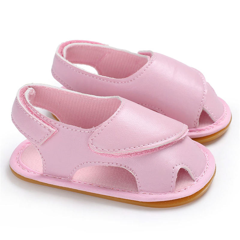 New Baby Summer Infant Baby Sandals PU Soft Rubber Sole Outdoors Comfort  Casual Shoes Toddler Baby First Walkers Shoes