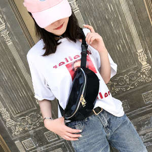 Fanny Packs Holographic Femm Pouch Bum-Bags Punk Waterproof Fashion Women New