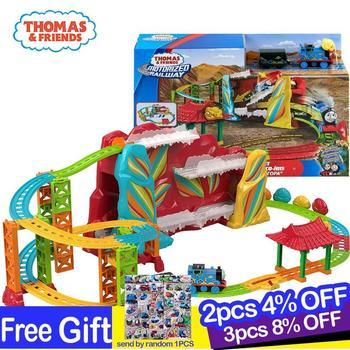 Original Thomas Rainbow Mountain Track Set The Movie Series Train Educational Boys Trackmaster New Toys for Kids Playset 2019