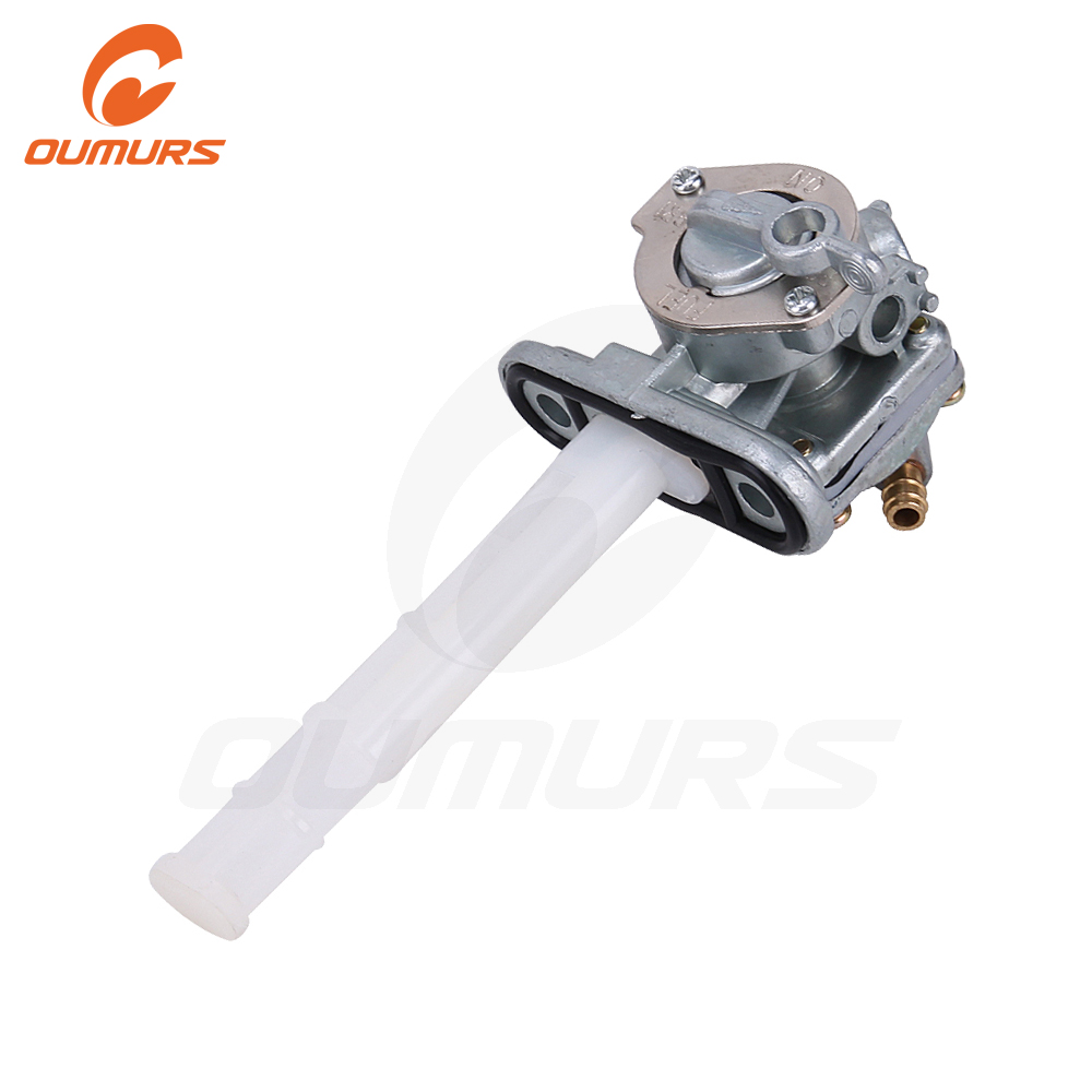 OUMURS Motorcycle Fuel Petcock Switch Valve Assy Fits For <font><b>Suzuki</b></font> <font><b>GSXR</b></font> <font><b>1100</b></font> <font><b>GSXR</b></font> 600W <font><b>GSXR</b></font> 750 1986-1992 Replace 44300-28A00 1 2 image