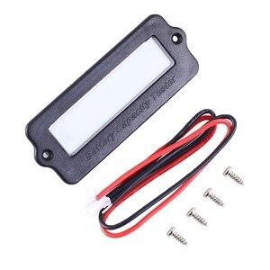 Image 2 - Testeur de capacité de batterie IC voltmètre indicateur 12V LY6W plomb acide LiPo LCD affichage capacité de la batterie compteur puissance détecter numérique