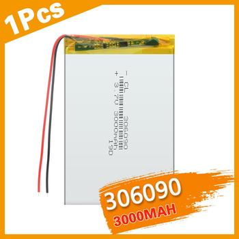 306090 3.7 V Supply Lithium Battery 3000 Mah Lithium Polymer Rechargeable Battery For Bluetooth Headset MP3 MP4 MP5 GPS недорого
