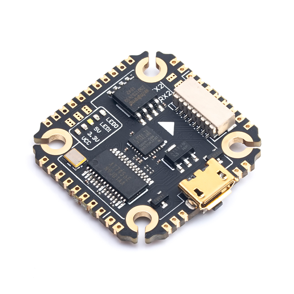 Diatone <font><b>Mamba</b></font> <font><b>F405</b></font> <font><b>Mini</b></font> MK3 Betaflight Flight Controller Integrated OSD 5V BEC Blackbox 16M 20mm/M2 for FPV Drones <font><b>Mini</b></font> Quads image